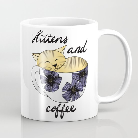 kittens coffee mug gifts cat lady
