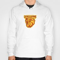 Casterly Rock Gold Lions Hoody