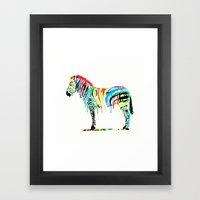 Fresh Paint Framed Art Print