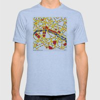 BOOGIE WOOGIE PARIS Mens Fitted Tee Athletic Blue SMALL