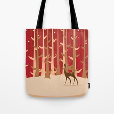 Christmas Reindeer. 1 Tote Bag