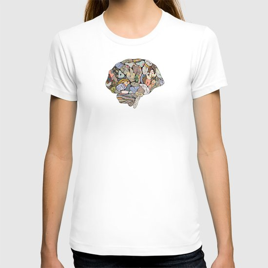 my brain looks different T-shirt