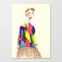 Study #25 Canvas Print