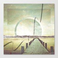 Southern Lights Canvas Print