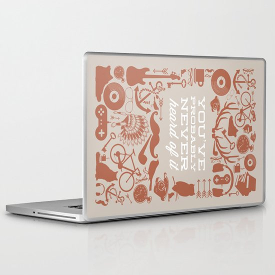 The Study of Hipsters Laptop & iPad Skin