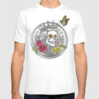 The Eternal Queen Mens Fitted Tee White SMALL