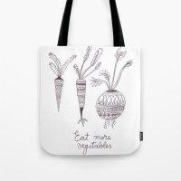 Eat More Vegetables Tote Bag