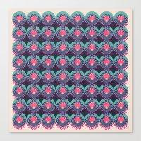 HUKUMU - Peacock Canvas Print