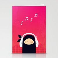Music Ninja Stationery Cards