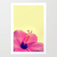 Tropical Flower Art Print