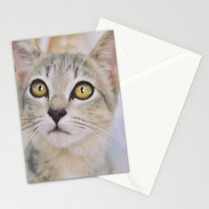 Cat of the floating village Stationery Cards
