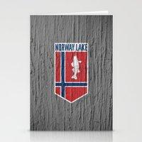 NORWAY LAKE / Sunburg / 2,327 acres Stationery Cards
