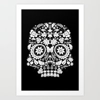 Original Day Of The Dead… Art Print