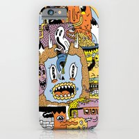 iPhone Cases featuring The Escape Plan by Frenemy