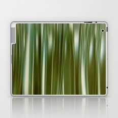 Flowing Green Laptop & iPad Skin