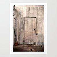 Door For String Art Print