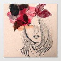Chloé Canvas Print