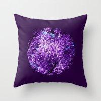 purple tree XXXIV Throw Pillow