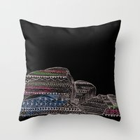 The Jetty Throw Pillow