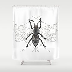 insect Shower Curtain