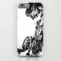 iPhone & iPod Case featuring Intense Chasing by nicebleed