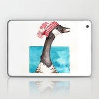 Canada Goose in a Canada Toque Laptop & iPad Skin