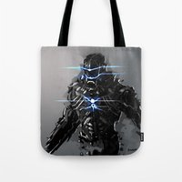 Raven Suit Tote Bag