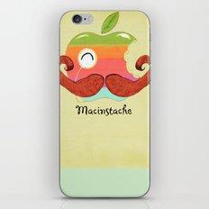The Macinstache iPhone & iPod Skin
