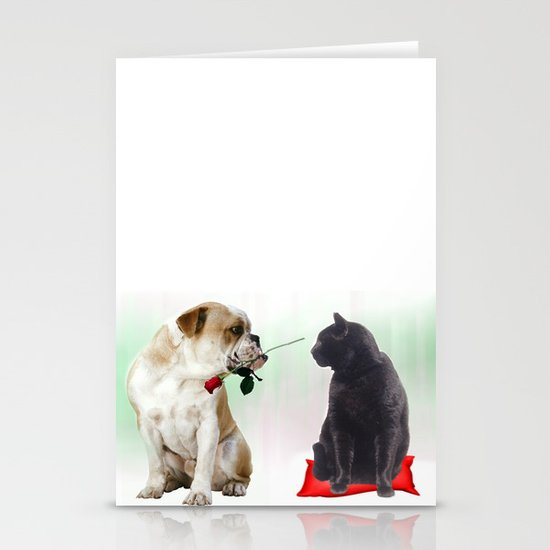 The look... Stationery Card
