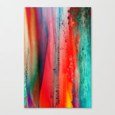 Ice Curtain Canvas Print