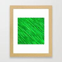 Emeralds Meshed  Framed Art Print