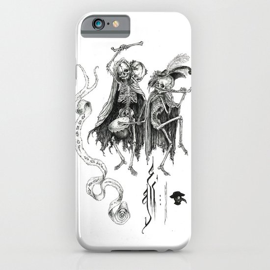 Danse Macabre iPhone & iPod Case