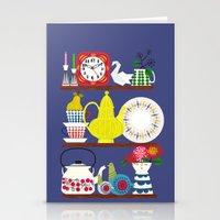 Scandinavian Shelf Colle… Stationery Cards