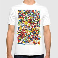 The Lego Movie Mens Fitted Tee White SMALL