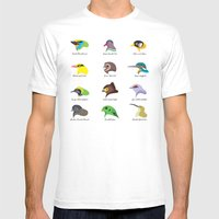 Montane Birds Series 2 Mens Fitted Tee White SMALL