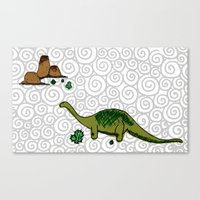 Dino Saurus Canvas Print