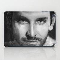 Bradley Cooper Traditional Portrait Print iPad Case