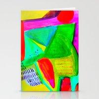 Marina I - Abstract Painting Stationery Cards