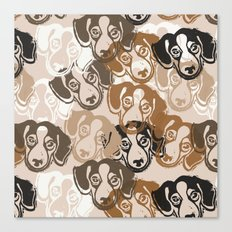 Beagles! Canvas Print