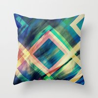 Rumours Swirl Throw Pillow