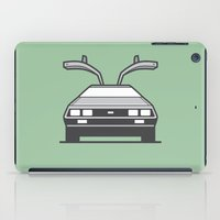#4 Delorean iPad Case