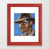 Indiana Jones - Harrison Ford Framed Art Print