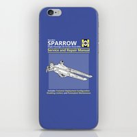 Sparrow Service And Repa… iPhone & iPod Skin