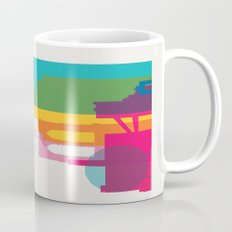 Shapes of Brooklyn. Accurate to scale Mug