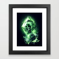 Radiation Framed Art Print