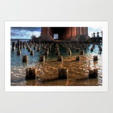 'Remnants of the Past' Art Print