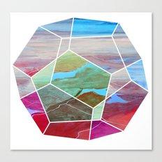 Geometric Birdseye Canvas Print