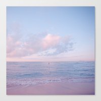Calm Day Ver.pink Canvas Print