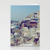 Oia, Santorini, Greece I… Stationery Cards