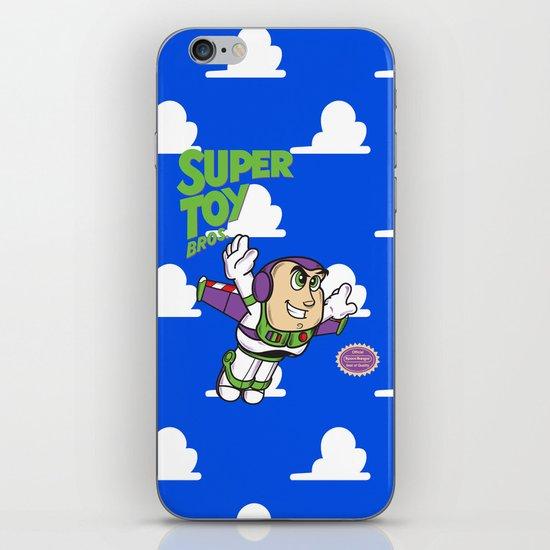 Super Toy Bros. iPhone & iPod Skin